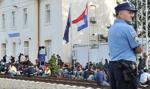 Chorwacja zamknęła siedem z ośmiu przejść granicznych z Serbią