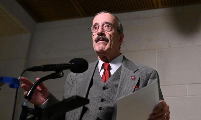 Przewodniczący komisji spraw zagranicznych Izby Reprezentantów Eliot Engel