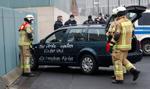 Samochód uderzył w bramę urzędu Angeli Merkel