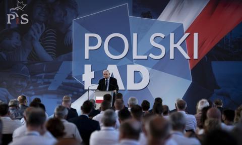 Kaczyński: Polski Ład to plan dogonienia Europy w dochodzie na mieszkańca