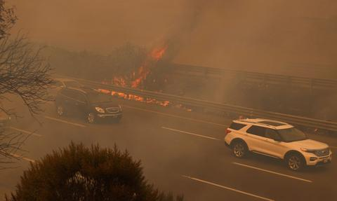 60 tys. Kalifornijczyków ewakuowanych z powodu pożarów