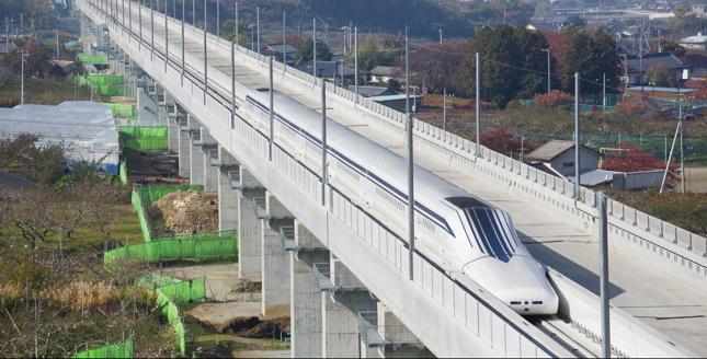 Pociąg Maglev, Japonia