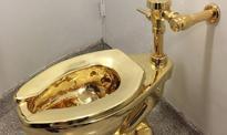 Zuchwała kradzież złotego sedesu z muzeum w Wielkiej Brytanii