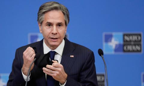 Blinken: USA odpowiedzą na lekkomyślne działania Rosji
