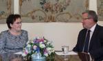 Prezydent powierzył Ewie Kopacz misję tworzenia rządu