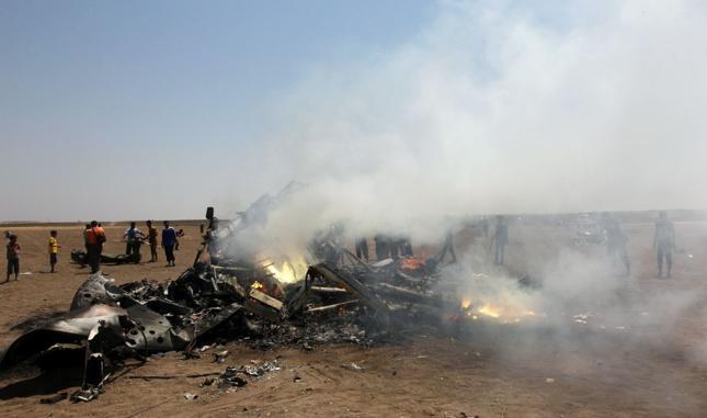 Rosyjski śmigłowiec zestrzelony nad Syrią