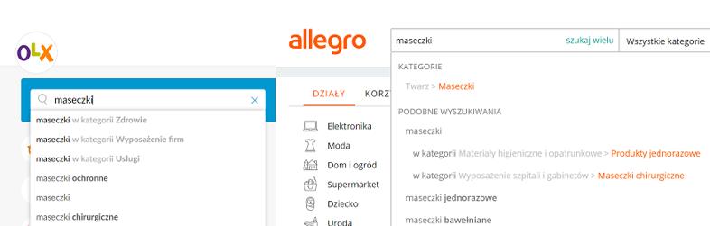Allegro I Olx Maseczki Zele Antybakteryjne I Inne Towary Wracaja Do Sprzedazy Bankier Pl
