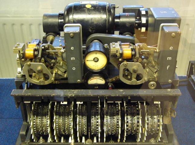 Maszyna szyfrująca Hitlera znaleziona w szopie