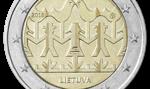 Bank Litwy: okolicznościowa moneta 2 euro poświęcona Świętu Pieśni