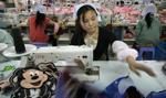 Chiński przemysł w urodziny bez fajerwerków