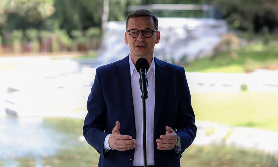 Przeciwnicy premiera zagłuszyli jego wystąpienie w Pszczynie