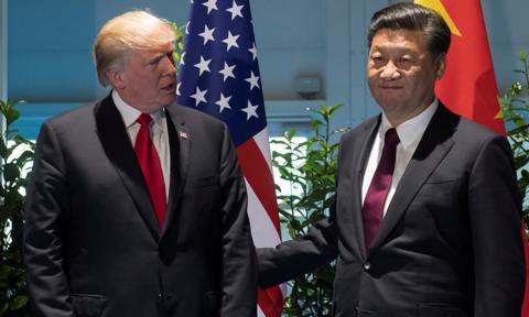 Trump: Ostatnio nie rozmawiałem z Xi Jinpingiem, bo nie chcę z nim mówić