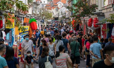 Największy spadek populacji Singapuru od 70 lat