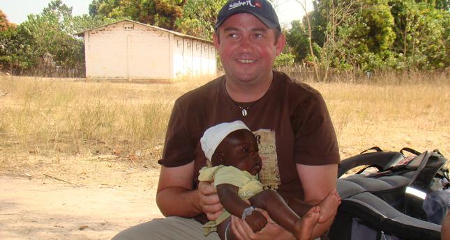 Marek Król - Polak w Gambii