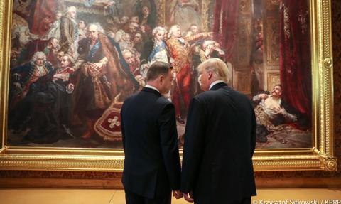 Szczerski: Nie naciskamy na wizytę Trumpa w Polsce, bo to, co miało być jej efektem, jest już dokonane