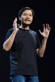 <h6>Lei Jun - prezes Xiaomi</h6>