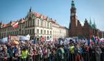 Marsz KOD we Wrocławiu pod hasłem