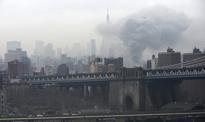 Zawalił się budynek na Manhattanie