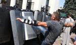 Ukraina: Nie żyje drugi żołnierz ranny w zamieszkach przed parlamentem