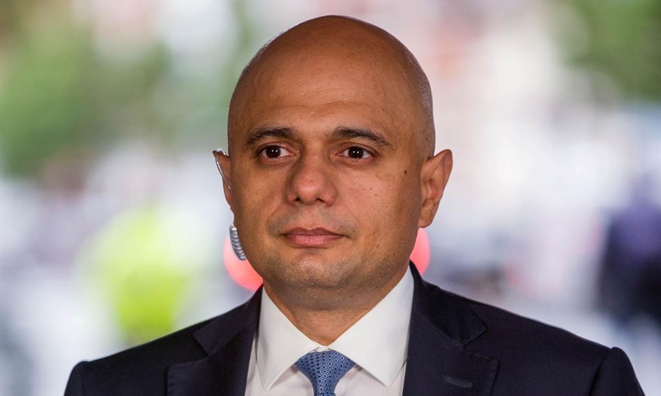 Brytyjski minister zdrowia Sajid Javid zakażony koronawirusem