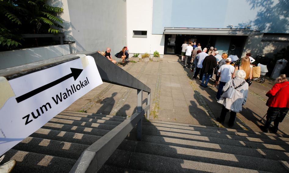 W Berlinie kolejki do lokali wyborczych. Padł rekord w wyborach korespondencyjnych