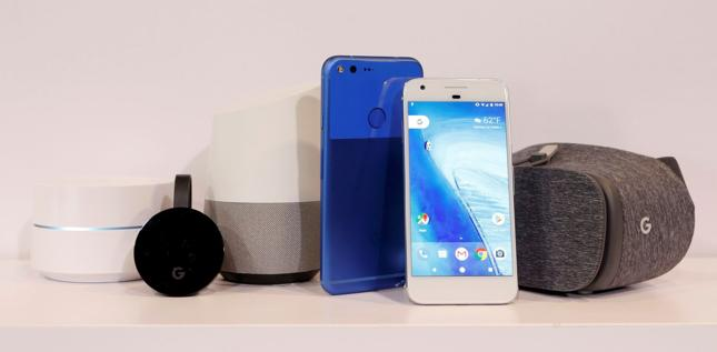 Urządzenia zaprezentowane przez Google podczas wtorkowej konferencji