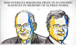 Oliver Hart i Bengt Holmström laureatami ekonomicznego Nobla