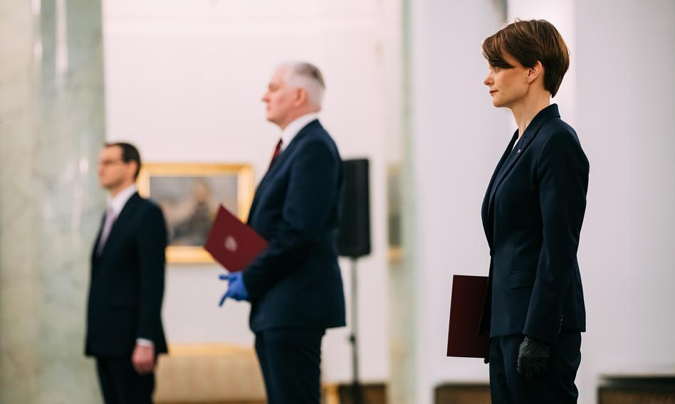 Emilewicz: Pogłoski o możliwej dymisji premiera to fake news