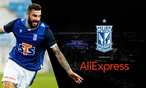 AliExpress został sponsorem Lecha Poznań