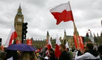 Rekordowy spadek liczby Polaków w Wielkiej Brytanii