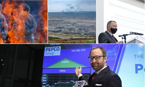 Debiut Pepco, kłopoty Turowa i doniesienie na premiera. Maj na zdjęciach [Galeria miesiąca]