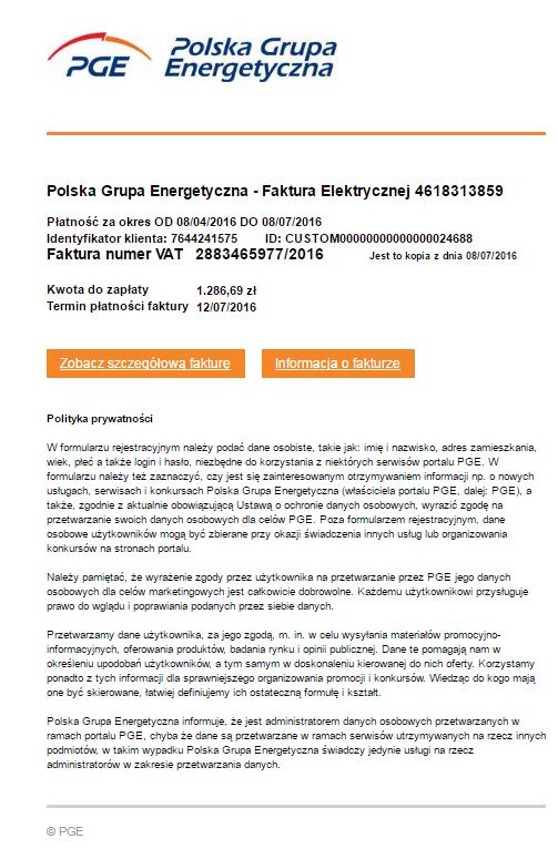 Phishing Polskiej Grupy Energetycznej