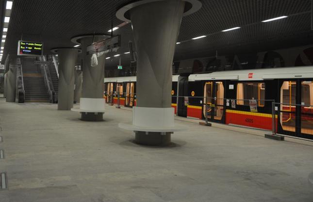 Prawie 2 mld zł z UE dostanie Warszawa na budowę II linii metra