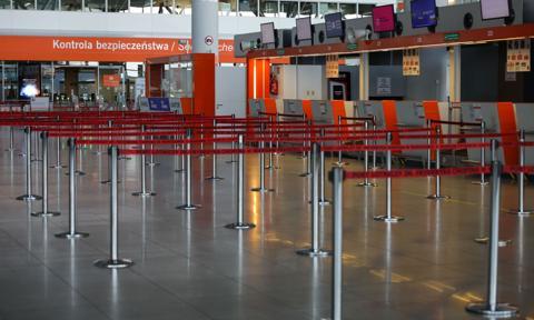 Polskie lotniska mierzą się z największym kryzysem w historii