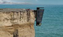 Życie na krawędzi: niezwykły dom na ścianie klifu