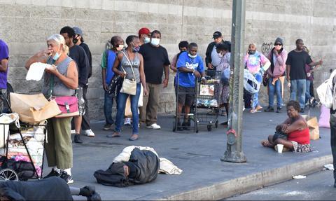 Osiem milionów Amerykanów żyje w ubóstwie z powodu epidemii