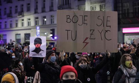 Strajk Kobiet w Warszawie. Kolejna blokada ulic