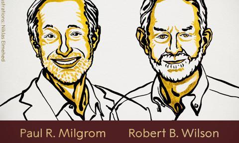 Paul Milgrom i Robert Wilson laureatami Nagrody Nobla w dziedzinie ekonomii