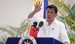 Prezydent Filipin zapowiedział