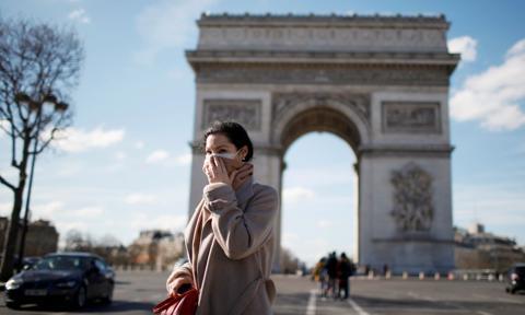 Kary za brak maseczki w Europie