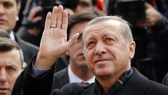 Prezydent Turcji Recep Tayyip Erdogan