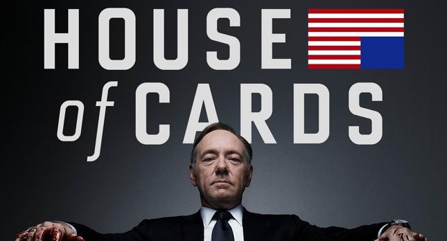 """""""House of Cards"""", jeden z najpopularniejszych seriali produkcji Netfliksa"""