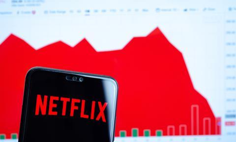 Netflix rozczarował wynikami, akcje ostro w dół