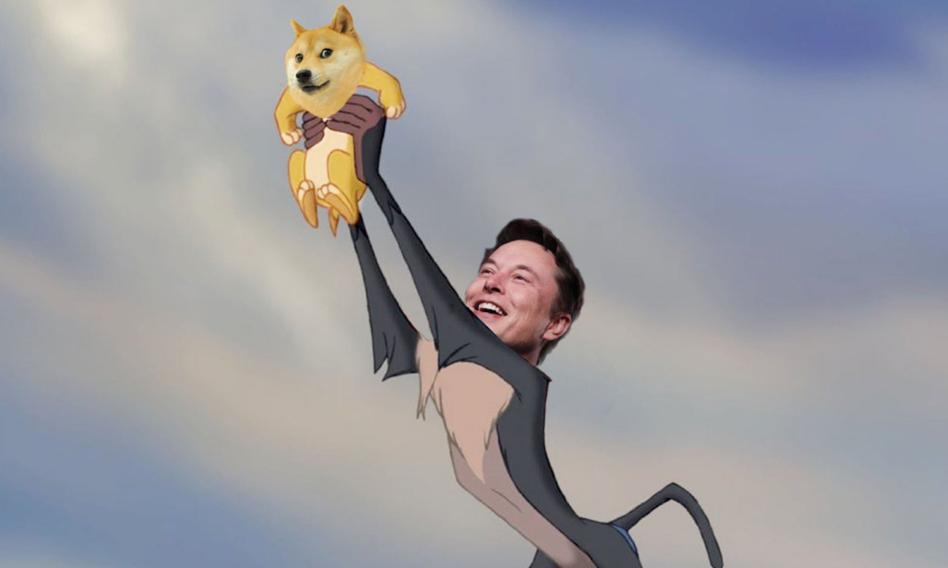 """Elon Musk """"nagania"""" na dogecoina. Kryptowaluta z memem w tle znów mocno w górę"""