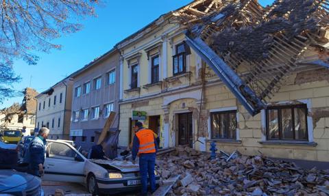Pomoc nadzwyczajna UE dla Chorwacji po niszczycielskim trzęsieniu ziemi