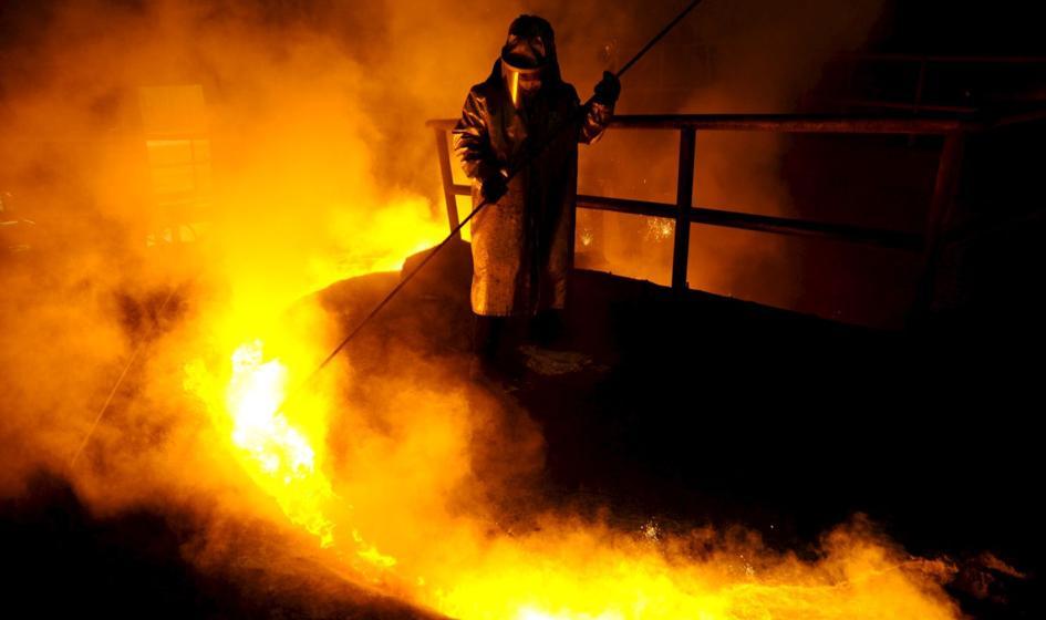 Mocny wzrost produkcji stali surowej w UE w sierpniu