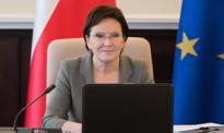 Premier Ewa Kopacz mówi o planach rządu