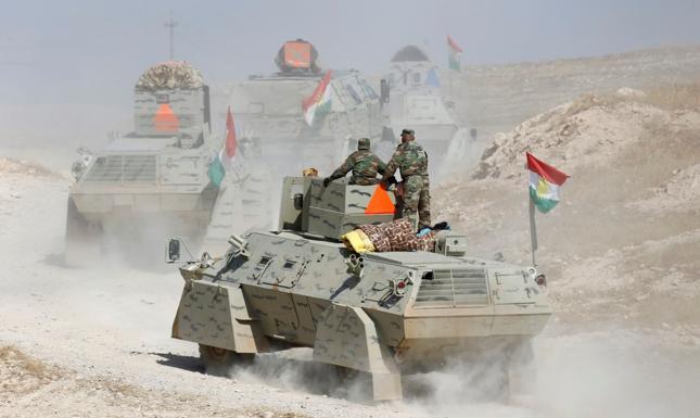Irak: siły rządowe i Kurdowie kontynuują ofensywę w rejonie Mosulu