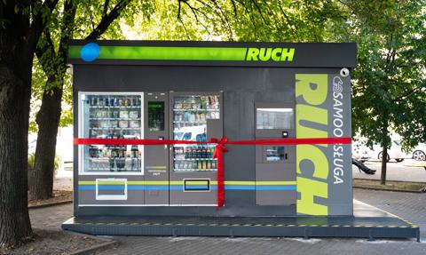 Ruch otworzył pierwszy samoobsługowy kiosk