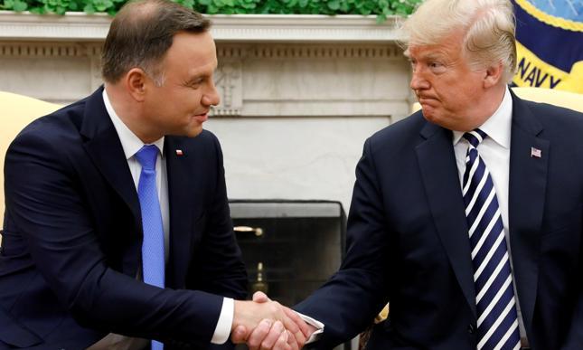 Spotkanie Trump-Duda we wrześniu 2018 r.